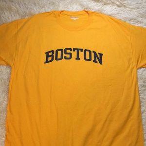Tops - ✨NWOT✨ Gold Boston Tee